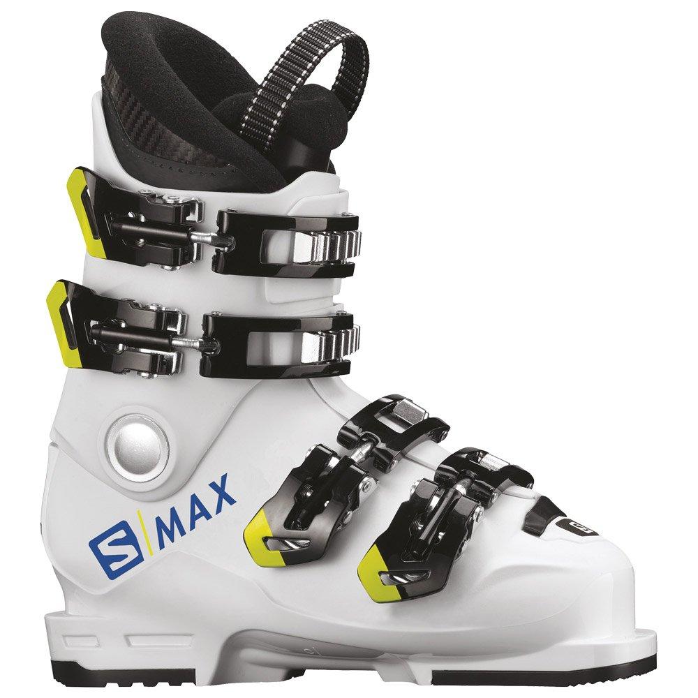 Chaussure de ski Salomon Smax 60t L White Acid Green