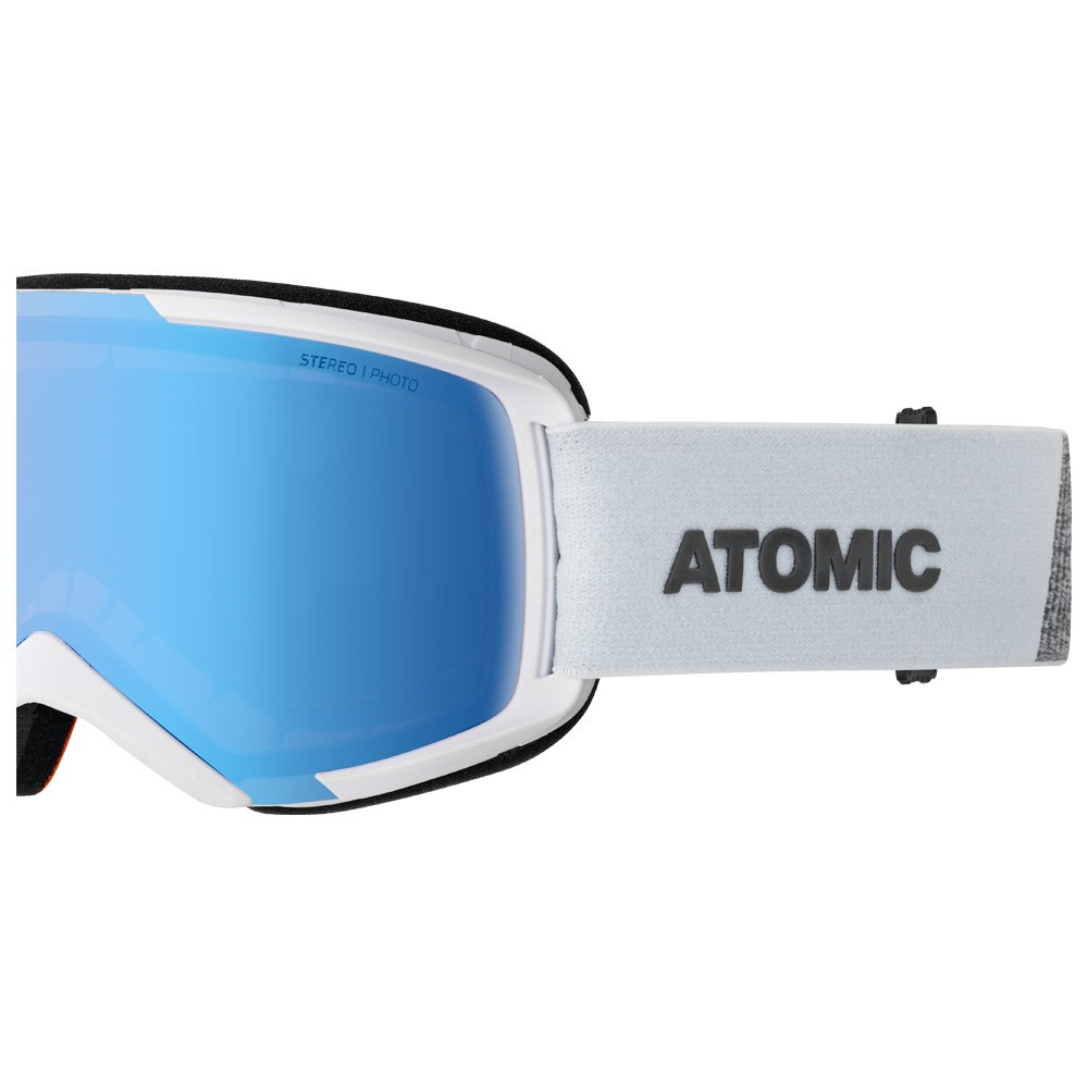 Atomic Goggles Savor Photo White Blue Photochromic Detail