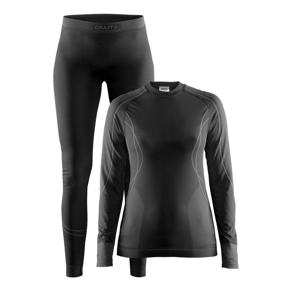 new style pre order sale usa online Nordic thermal underwear Craft Pack Seamless Zone W Black Granite