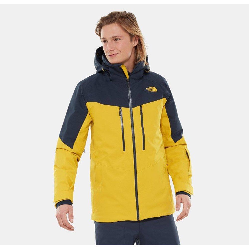 Ski Jacket The North Face Chakal Leo Yellow Urban Navy