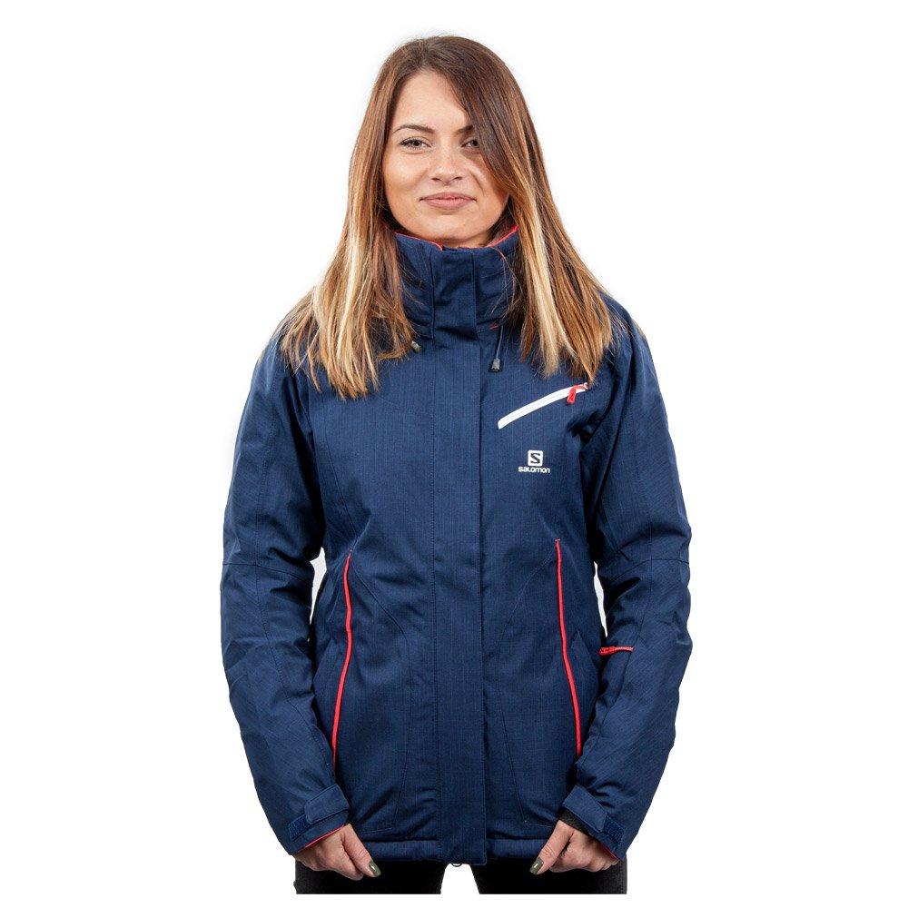 Chaqueta esqui Salomon Jacket Fantasy Jkt W Wisteria Navy