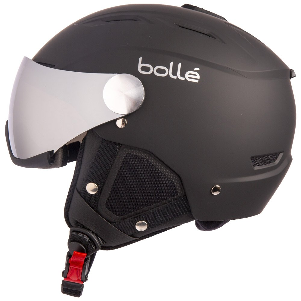 Bolle Visor helmet Backline Visor Soft Black & Silver With Silver Gun Visor + Lemon Visor Back