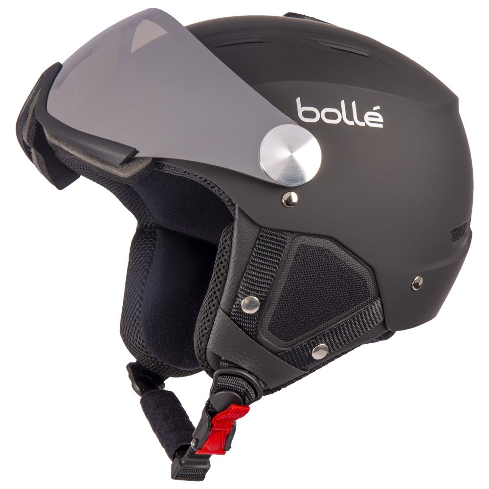 Bolle Visor helmet Backline Visor Soft Black & Silver With Silver Gun Visor + Lemon Visor Overview