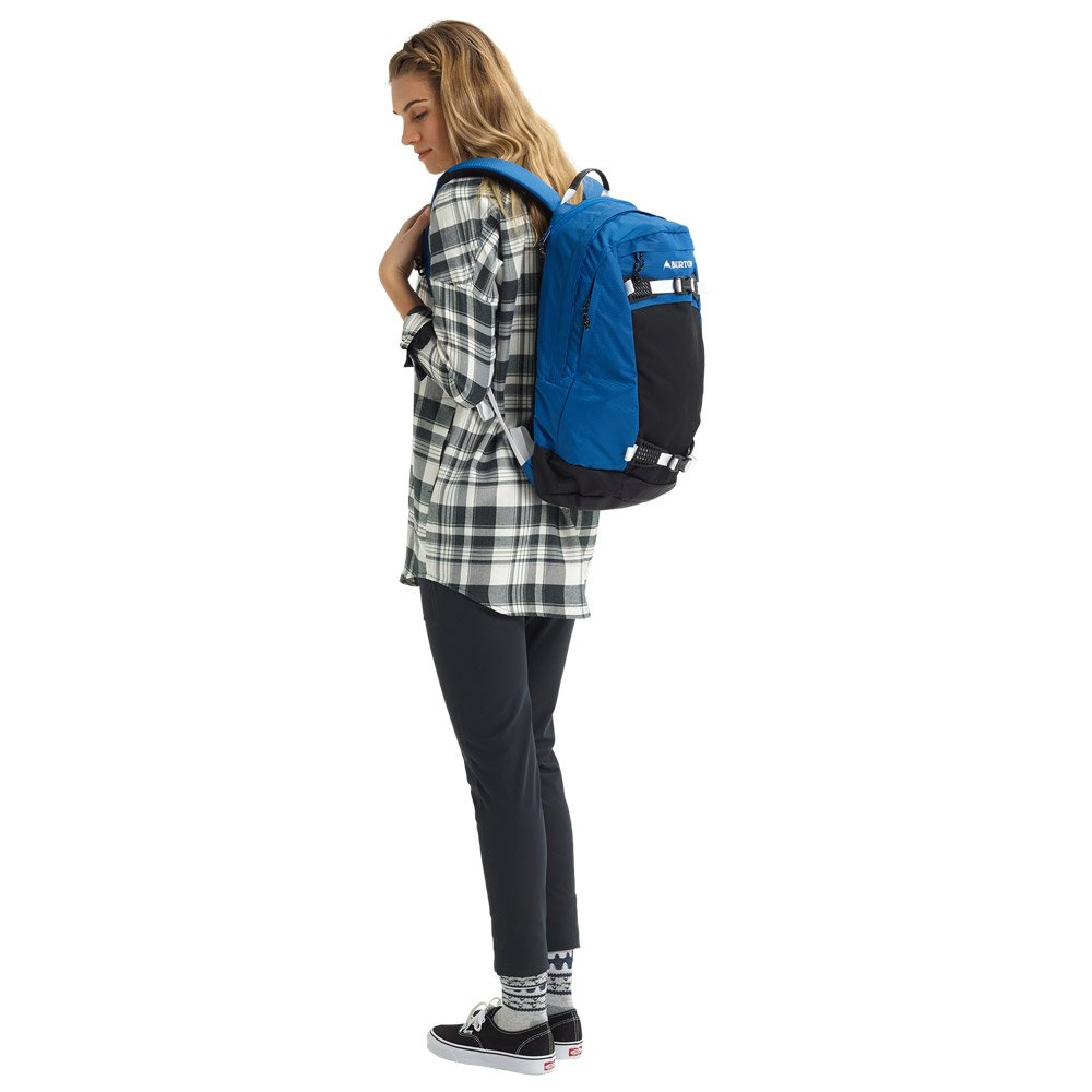 Burton Backpack Day Hiker 25l Classic Blue Ripstop Details