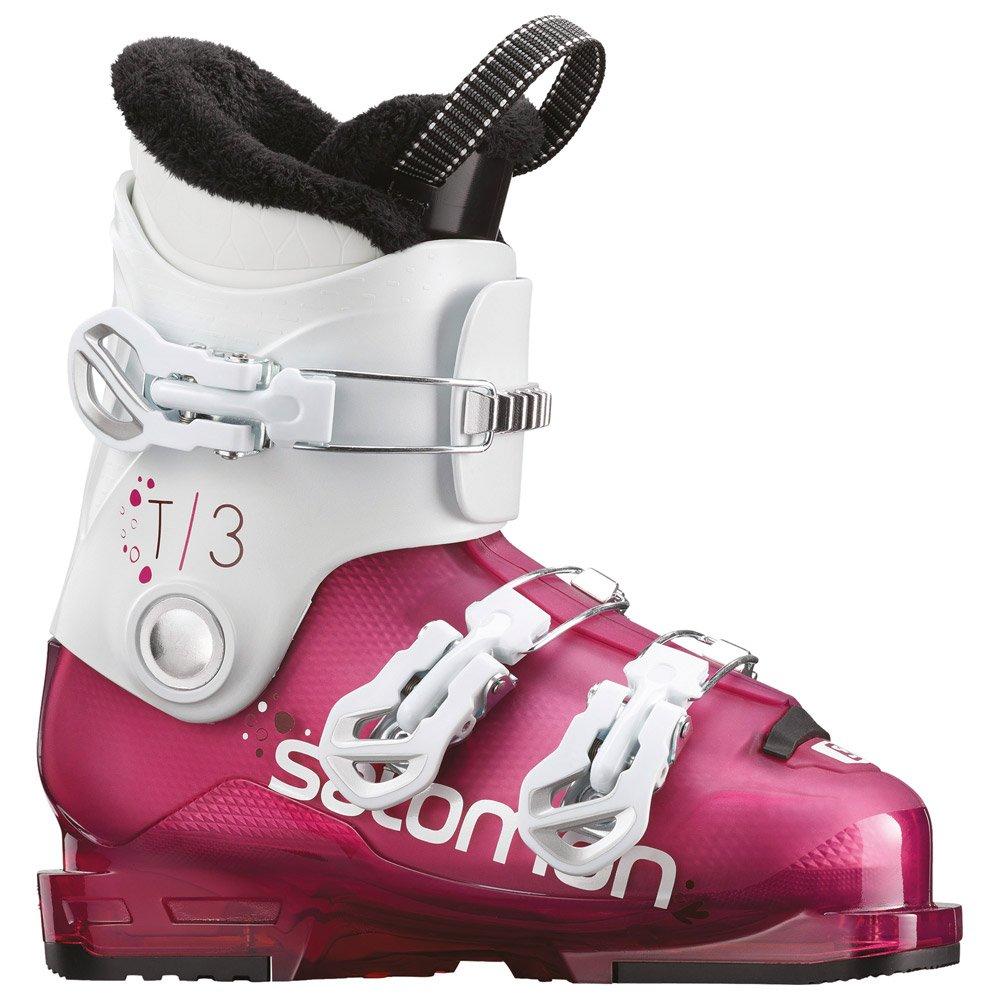 Chaussure de ski Salomon T3 Rt Rose Violet Transluc White