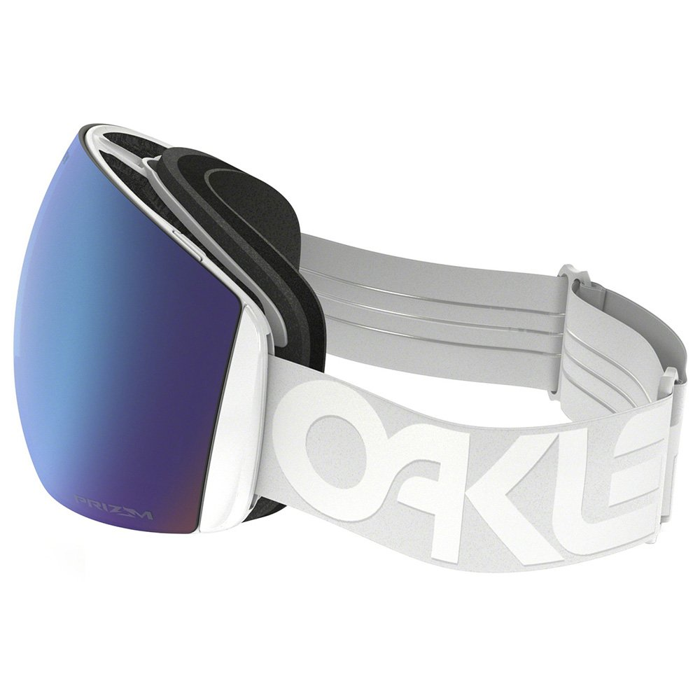 Oakley Goggles Flight Deck Factory Pilot Whiteout Prizm Sapphire Iridium Side-view