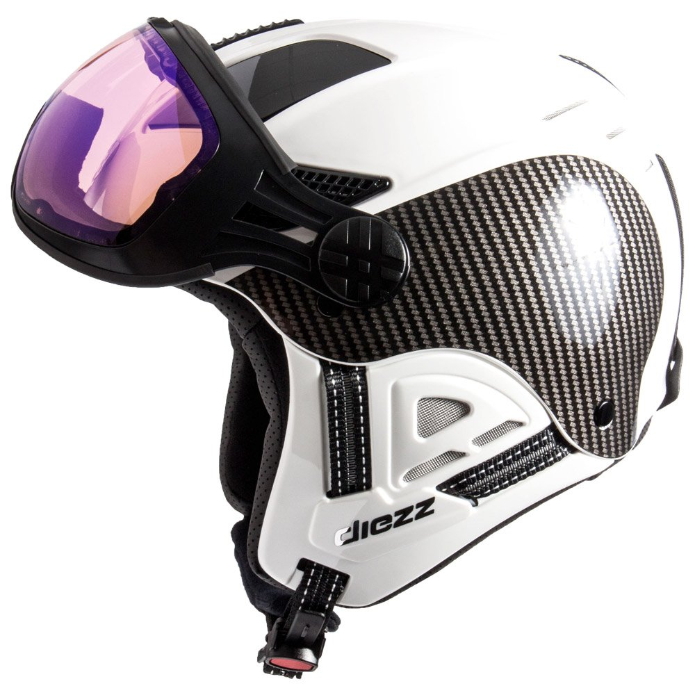 Diezz Visor helmet Louna 2 Ventury Carbon White Activilux ML Blue Cat 1-3 Back