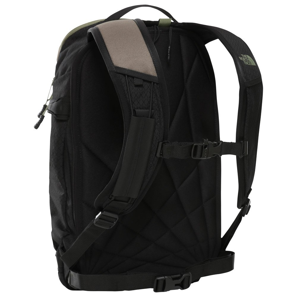 The North Face Backpack Slackpack Weimaraner Brown Camo Black 20 L Rear
