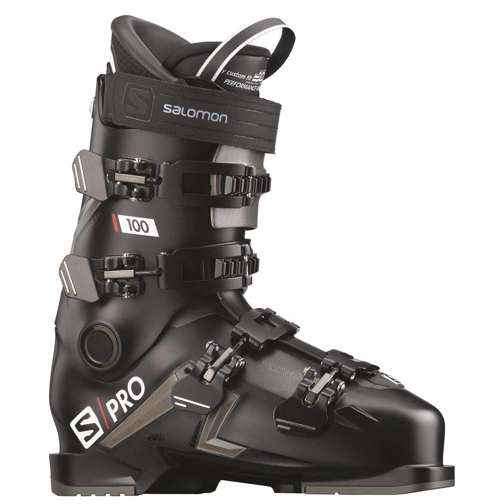 Chaussure de ski Salomon Spro 100 Black Belluga Red