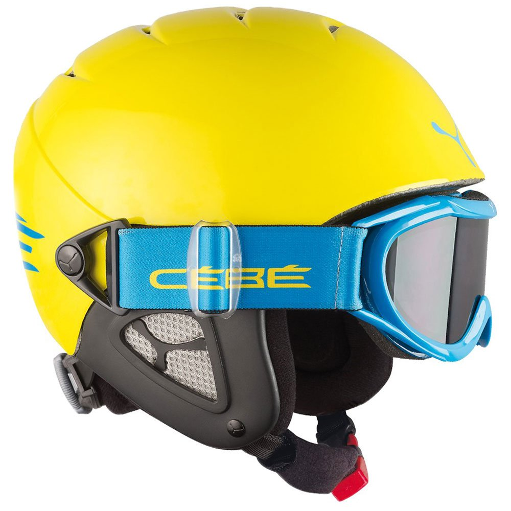 save off new images of the latest Helmet Cebe Twinny Yellow Blue