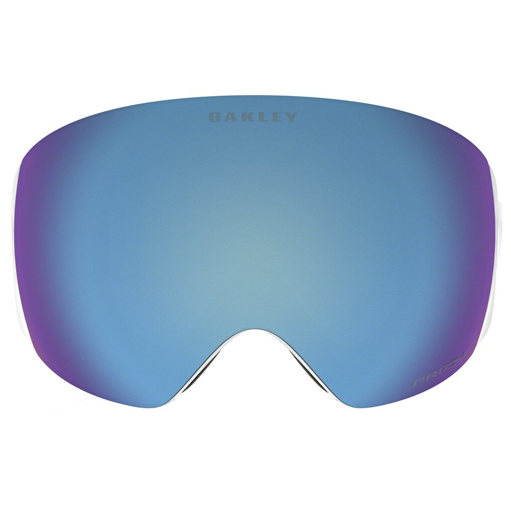 Oakley Goggles Flight Deck Factory Pilot Whiteout Prizm Sapphire Iridium Front-view
