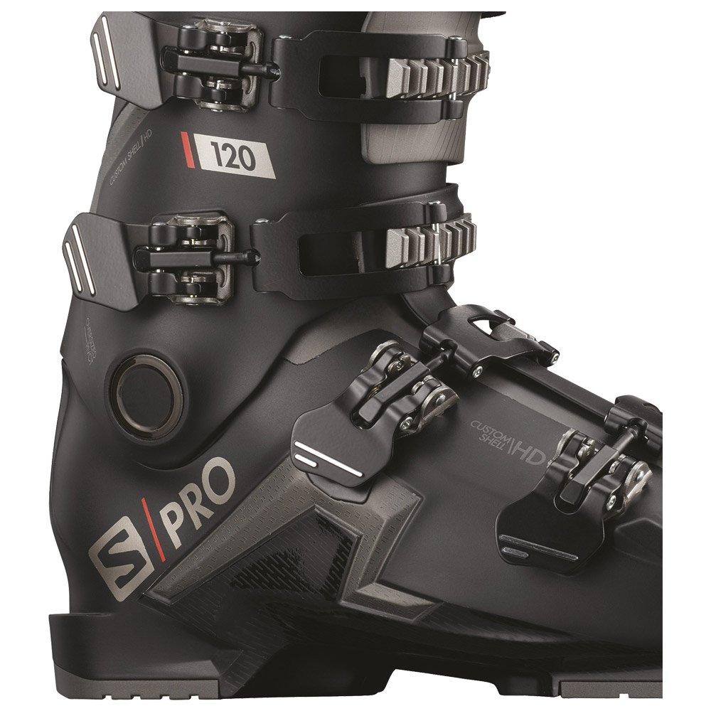 Skischoenen Salomon Spro 120 Black Belluga Red