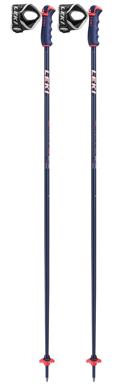 hete verkoop San Francisco schattig Stokken Leki Spitfire S Bleu Metal Rouge Fluo