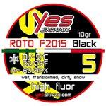 Yes Skiwax Roto-Bürsten-Wachs Roto F2015 Black 5 10gr Präsentation