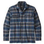Patagonia Shirt Fjord Flannel Independence New Navy Back