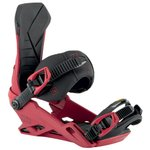 Nitro Snowboard Binding Team Red Overview