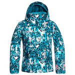 Roxy Ski Jacket Jetty Girl Ocean Depths Leopold Overview