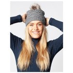 Barts Bonnet Claire Beanie Heather Grey  Dos