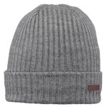 Barts Bonnet Wilbert Turnup Heather Grey  Présentation