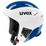 Uvex Helm Race + White-blue Präsentation