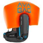 Ortovox Mochila airbag Free Rider 22 Avabag Kit Noir Anthracite Presentación