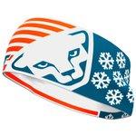 Dynafit Bandeau Graphic Performance Headband Nimbus/4490 Flag Présentation