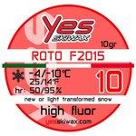Yes Skiwax Roto-Bürsten-Wachs Roto F2015 10 10gr Präsentation