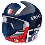 Briko Helm Vulcano Fis 6.8 France Shiny Blue White Präsentation