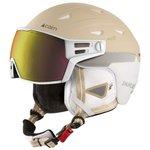 Cairn Visor Helm Shuffle S-visor Evoligh White Cream Voorstelling