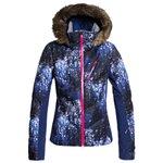 Roxy Skijacke Snowstorm Plus Medieval Blue Sparkles Präsentation