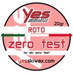 Yes Skiwax Roto-Bürsten-Wachs Roto Zero Test 20gr Präsentation