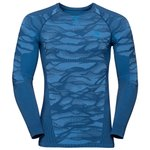 Odlo  Blackcomb Ls Estate Blue Overview