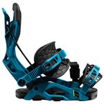 Flow Snowboard Binding Fuse Hybrid Blue Black Overview