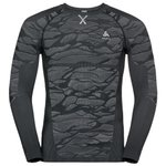 Odlo  Blackcomb Ls Black Grey Voorstelling