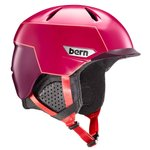 Bern Helmet Weston Peak Satin Cranberry Pink Overview