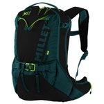 Millet Backpack Steep 22 Noir/orion Blue Overview