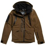Superdry Blouson Ski Ultimate Moutain Rescue Dusty Olive Présentation