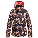 Roxy Blouson Ski Torah Bright Jetty True Black Magnolia Présentation