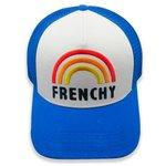 French Disorder Berretto Trucker Cap Frenchy Imperial Blue Presentazione