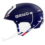 Briko Casque Slalom Fédé France Shint Blue White Présentation