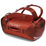 Osprey Travel Bag Transporter 40 Ruffian Red General View
