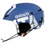 Briko Casco Slalom Fisi Shiny Blue Royal Presentazione