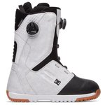DC Boots Control Boa White Overview