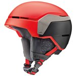 Atomic Casco Count Xtd Red Black Presentazione