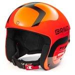 Briko Casque Vulcano Fis 6.8 Shiny Orange Black Présentation