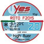 Yes Skiwax Roto-Bürsten-Wachs Roto F2015 20 10gr Präsentation