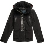 Superdry Blouson Ski Ultimate Moutain Rescue Black Présentation