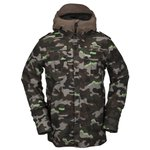Volcom Ski Jacket Creedle2stone Army Overview