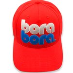 French Disorder Cap Base Ball Cao Bora Bora Red Overview