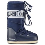 Moon Boot Snow boots Nylon Blue Jr Overview